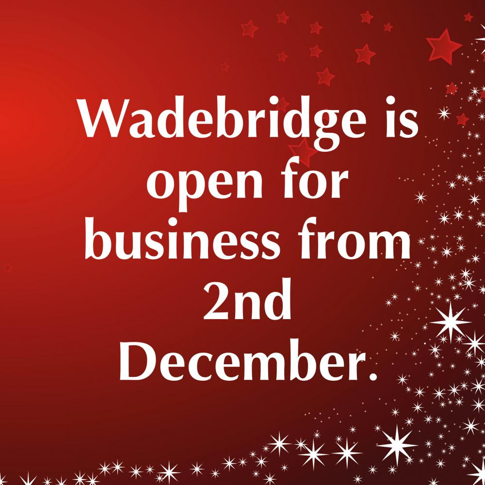Open Wadebridge